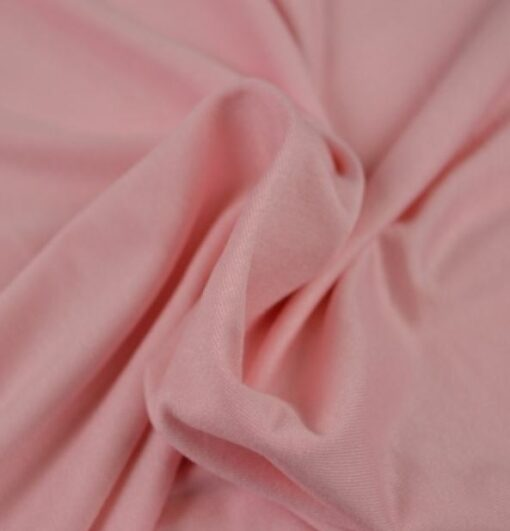 7743cbe7 Ensfarget viskose jersey - dusky pink - Motestoffer.no